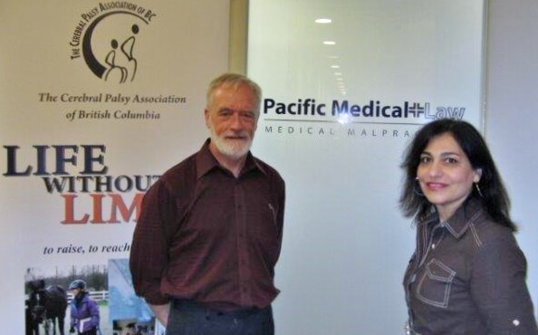 Pacific Medical Law Donates $10,000 to Cerebral Palsy Association