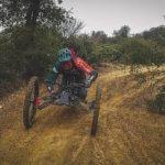 Adaptive mountain biking